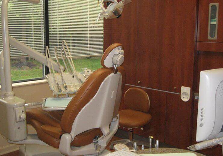Dental Innovations dental exam room